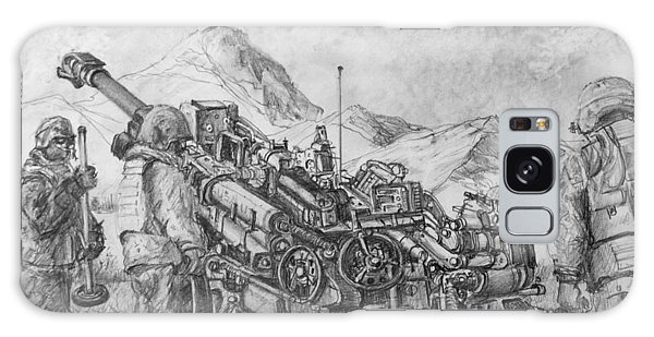 Us Army M-777 Howitzer Galaxy Case by Jim Hubbard