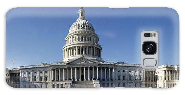 Us Capitol Panorama Galaxy Case
