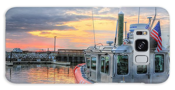 Us Coast Guard Defender Class Boat Galaxy Case by JC Findley