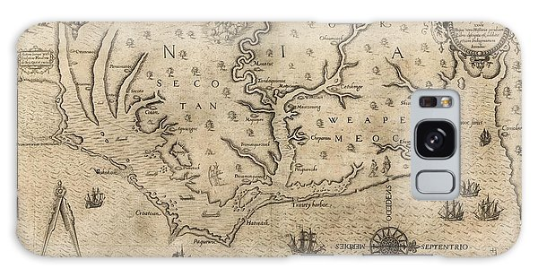 Royal Colony Galaxy Case - Us Colony Of Virginia by Library Of Congress, Geography And Map Division/science Photo Library