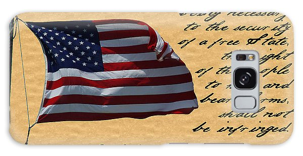 Us Constitution 2nd Amendment Flag Galaxy Case