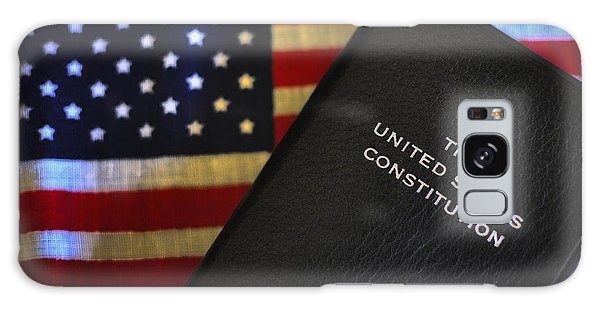 United States Constitution And Flag Galaxy Case