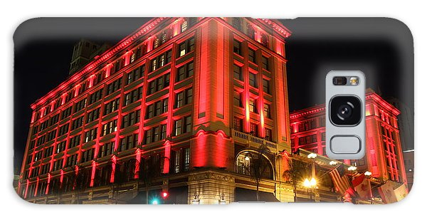 Us Grant Hotel In Red Galaxy Case