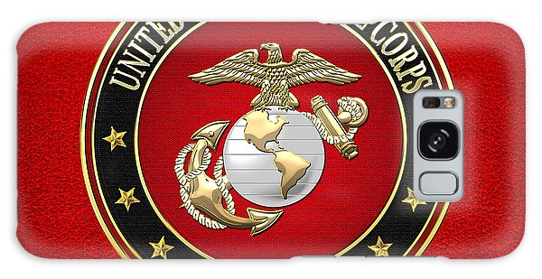 U. S. Marine Corps - U S M C Emblem Special Edition Galaxy Case