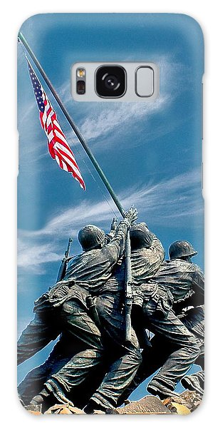 Us Marine Corps War Memorial Galaxy Case