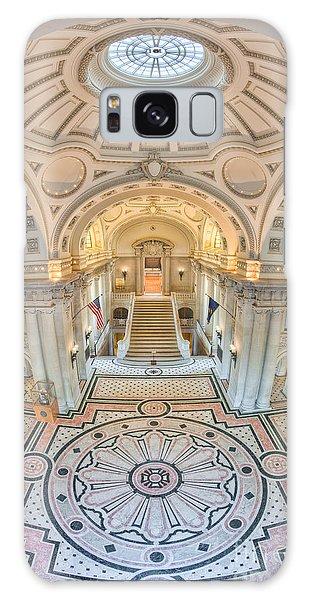 Us Naval Academy Bancroft Hall IIi Galaxy Case