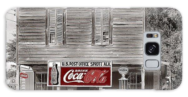 U.s. Post Office General Store Coca-cola Signs Sprott  Alabama Walker Evans Photo C.1935-2014. Galaxy Case by David Lee Guss