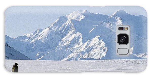 Denali Galaxy Case - Usa, Alaska, Sled Dogs, Park Ranger by Gerry Reynolds