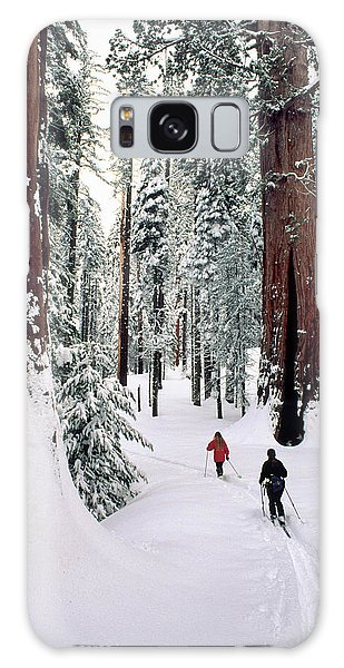 Kings Canyon Galaxy Case - Usa, California, Cross Country Skiing by Gerry Reynolds
