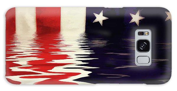 Usa Flag Galaxy Case