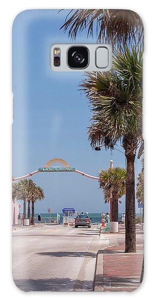 Flagler Galaxy Case - Usa, Florida, New Smyrna Beach, Flagler by Lisa S. Engelbrecht