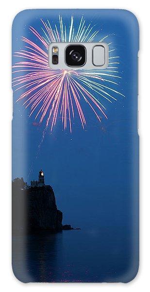Fireworks Galaxy Case - Usa, Minnesota, Two Harbors, Split Rock by Peter Hawkins