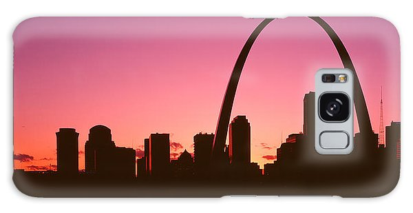 St Louis Mo Galaxy Case - Usa, Missouri, St Louis, Sunset by Panoramic Images