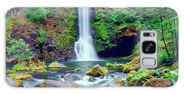 Basalt Galaxy Case - Usa, Oregon, Toketee Waterfall by Jaynes Gallery