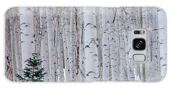 Cold Day Galaxy Case - Usa, Utah, La Sal Mountains by Scott T. Smith