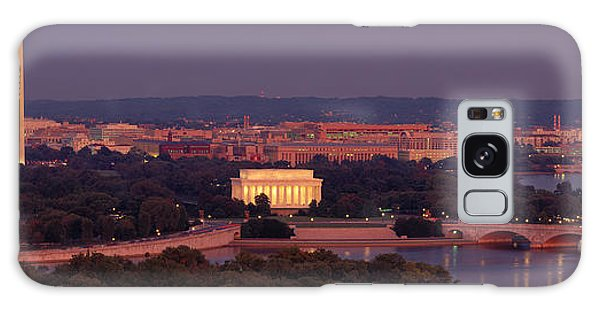 Usa, Washington Dc, Aerial, Night Galaxy Case