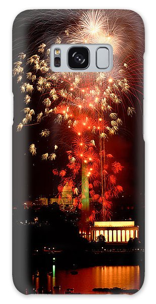 Usa, Washington Dc, Fireworks Galaxy Case