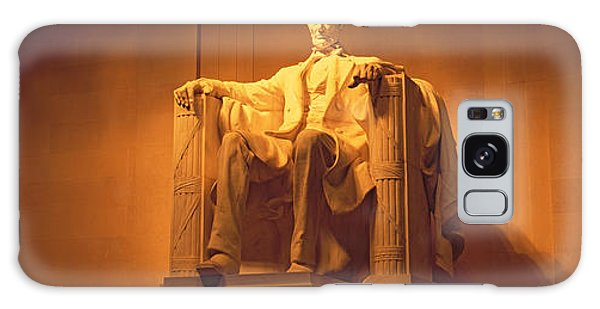 Usa, Washington Dc, Lincoln Memorial Galaxy Case by Panoramic Images