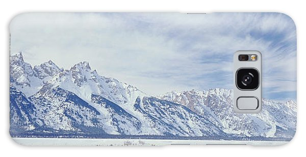 Cold Day Galaxy Case - Usa, Wyoming, Grand Teton National by Scott T. Smith