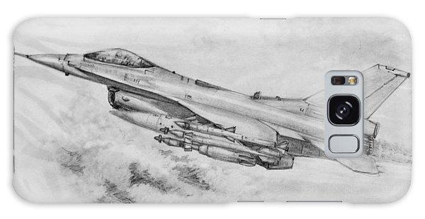 Usaf F-16 Fighting Falcon Galaxy Case by Jim Hubbard