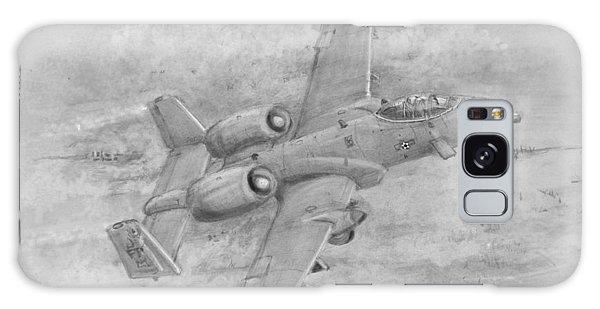 Usaf Fairchild-republic  A-10 Warthog Galaxy Case by Jim Hubbard