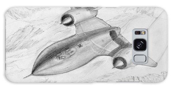 Usaf Lockheed Sr-71 Blackbird Galaxy Case by Jim Hubbard