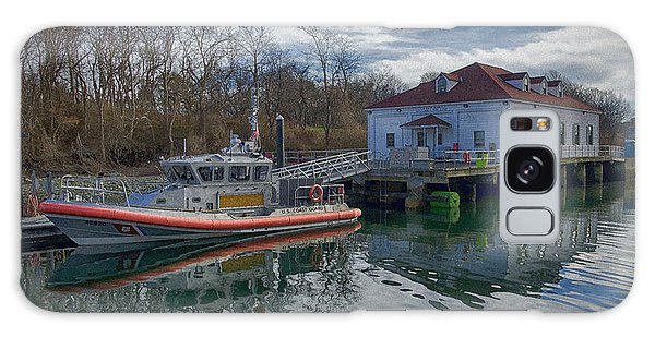 Galaxy Case featuring the photograph Usgs Castle Hill Station by Joan Carroll