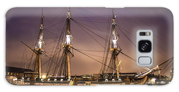 Uss Constitution Boston   Galaxy Case by John McGraw