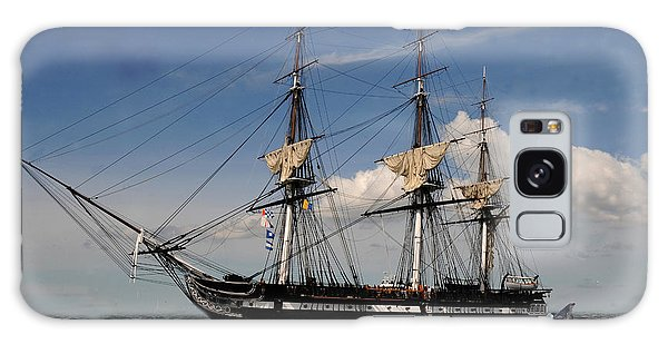 Uss Constitution - Featured In Comfortable Art Group Galaxy Case