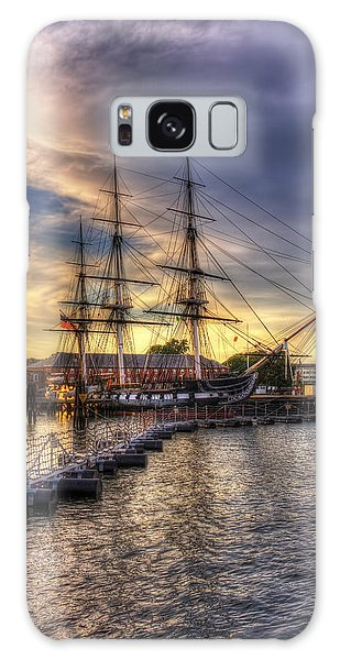 Uss Constitution Sunset - Boston Galaxy Case