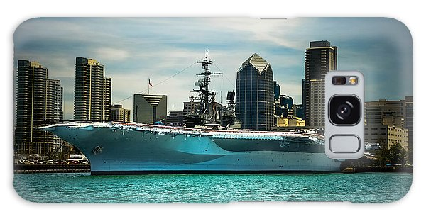 Uss Midway Museum Cv 41 Aircraft Carrier Galaxy Case by Claudia Ellis