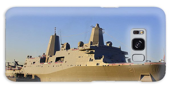 Uss New York - Lpd21 Galaxy Case by Dora Sofia Caputo Photographic Art and Design