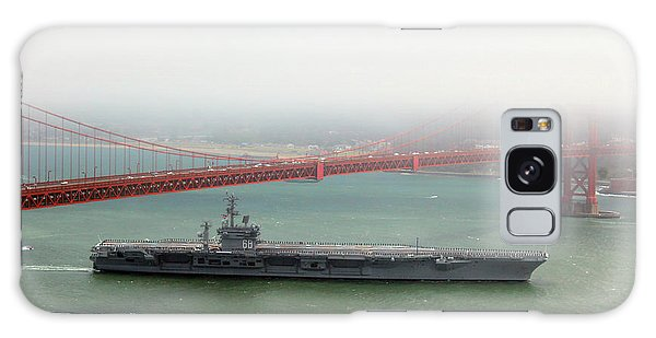 Uss Nimitz Cvn-68 Golden Gate Bridge Galaxy Case