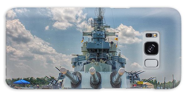 Uss North Carolina Galaxy Case