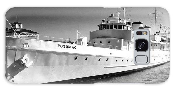 Uss Potomac Galaxy Case by Anne Mott