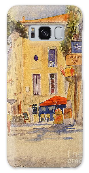 Uzes France Galaxy Case by Beatrice Cloake