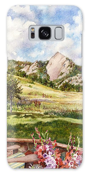 Scenery Galaxy Case - Vacation At Chautauqua by Anne Gifford