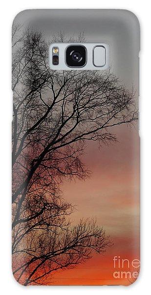 Valentine Day Sunset Galaxy Case by Tannis  Baldwin