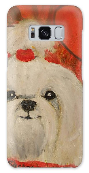 Valentine Pup Galaxy Case