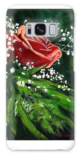 Valentine Rose Galaxy Case