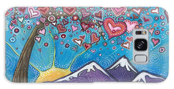 Valentine Wishes Galaxy Case by Tanielle Childers