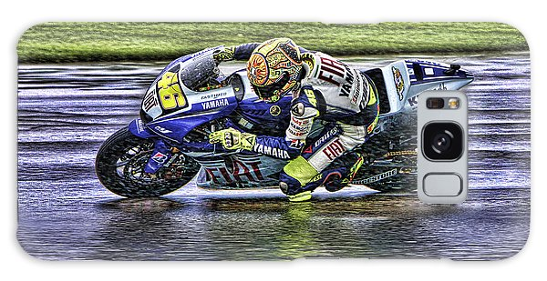Valentino Rossi At Indy Galaxy Case