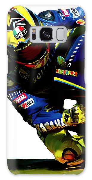 Valentino Rossi  Corner Speed IIi Galaxy Case