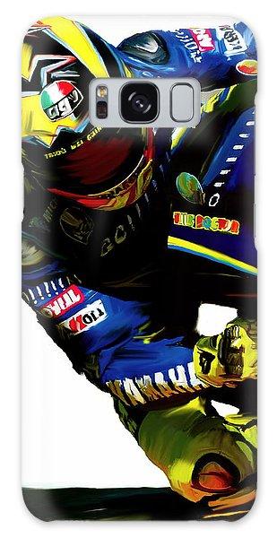 Valentino Rossi  Corner Speed IIi Galaxy Case