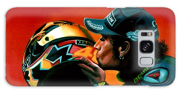 Goat Galaxy Case - Valentino Rossi Portrait by Paul Meijering