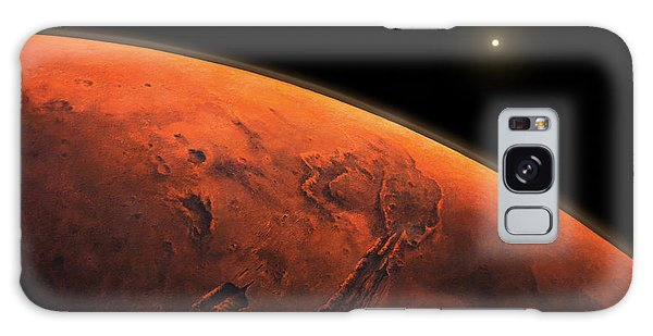Valles Marineris Sunrise Galaxy Case