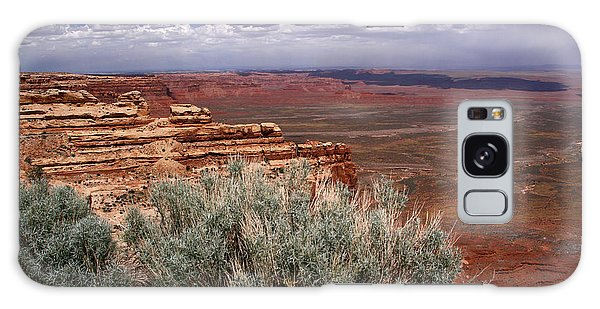 Valley Of The Gods View-moki Dugway Galaxy Case by Butch Lombardi