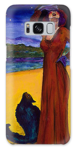 Van Goes With Mrs. Klimt On A Starry Night Galaxy Case