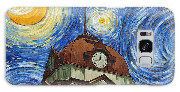 Van Gogh Courthouse Galaxy Case