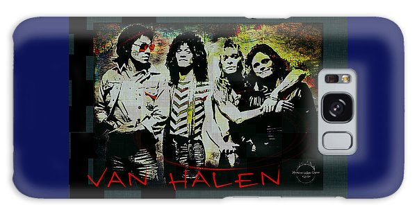 Van Halen - Ain't Talkin' 'bout Love Galaxy Case by Absinthe Art By Michelle LeAnn Scott